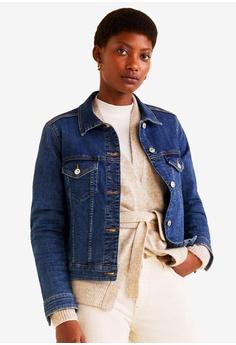 f9002c338cb37 Mango blue Medium Denim Jacket 5AD7CAAE31FD90GS 1