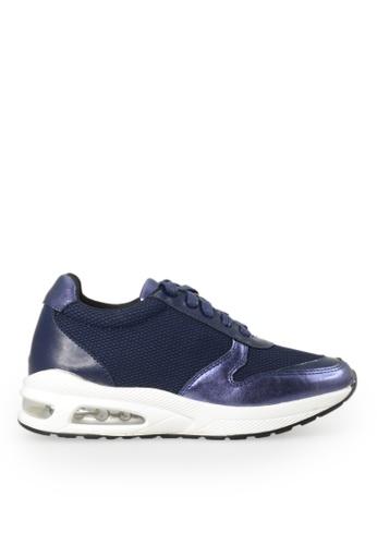 Footspot blue FOOTSPOT - Casual Sneakers A41F8SHD6FA570GS_1