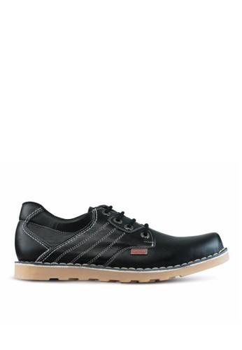 Sogno black Sepatu Boot Pria GF.7823 1147ASH507A1D3GS_1