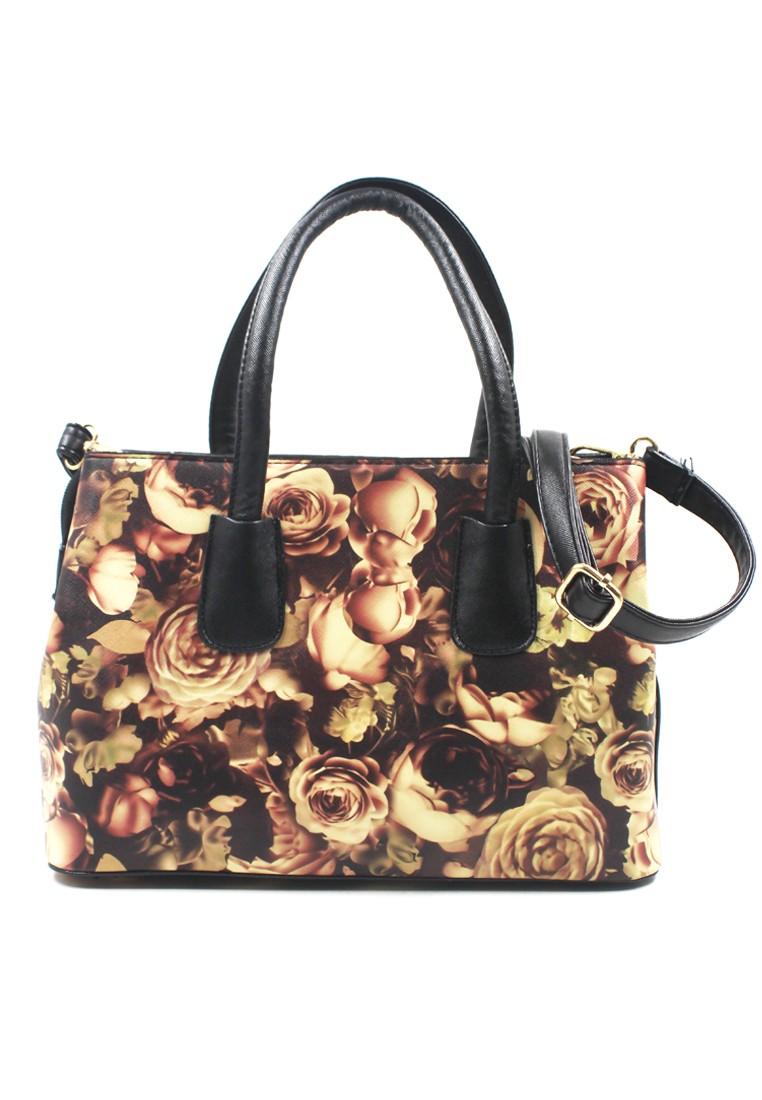 Vintage Paris Ysa Shoulder Bag with Sling