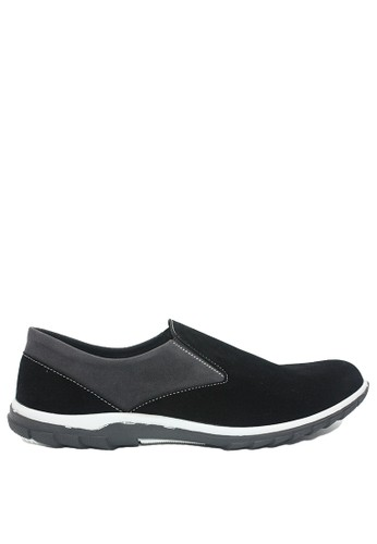 Dr. Kevin black Dr. Kevin Men Casual Shoes Slip On 13275 - Black ACFF7SHB92D592GS_1
