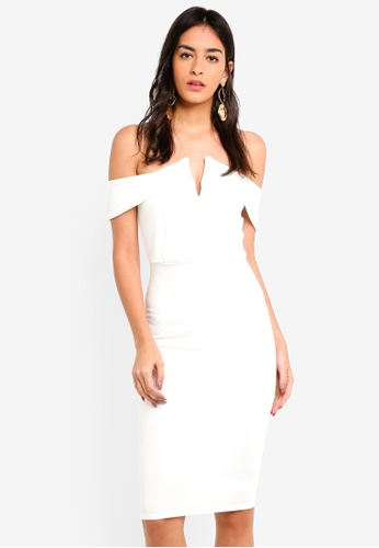 huge sale entire collection price reduced Buy MISSGUIDED Dropped Sleeve White Midi Dress Online on ZALORA ...
