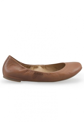 Shu Talk brown Amaztep Classic Brown Ballet Flats SH617SH2USEMHK_1