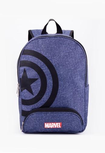 Marvel multi The Avengers Flash Teen Double Rucksack L 52774AC8D33223GS_1