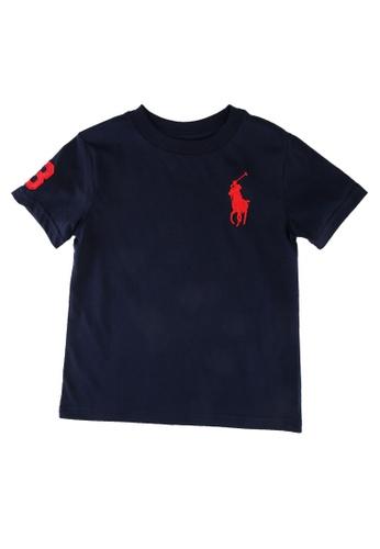 Polo Ralph Lauren navy Ss Cn-Tops-T-Shirt 9594DKA6DA4A9CGS_1
