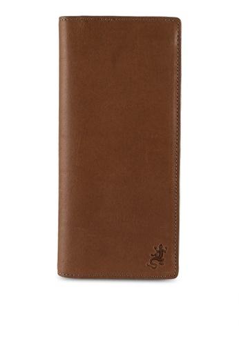 agnès b. brown Bi-Fold Long Wallet CD0ECAC8338D72GS_1