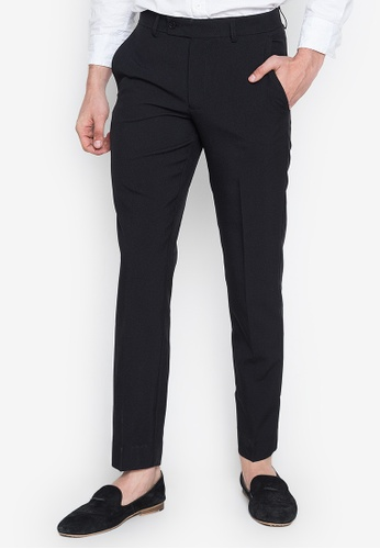 famous brand reliable quality various colors The Collection - Black Flat Front Slim Trousers