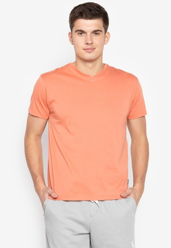 40b2d3238e9c Shop OXYGEN Daily Slim Fit Tee (Rust) Online on ZALORA Philippines