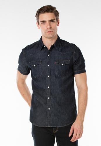 Levi's blue Levi's Classic Western Shirt LE815AA44NSDMY_1