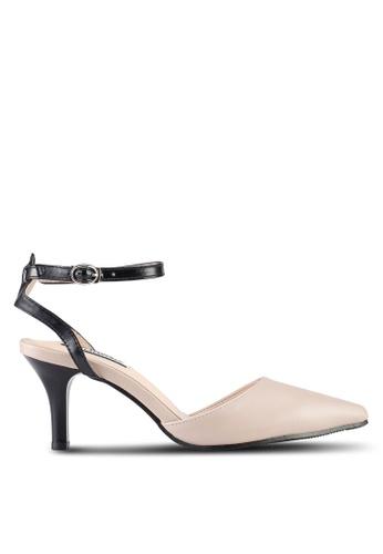 Mimosa beige Pointed Toe Heels 8EF14SH87C3A31GS_1
