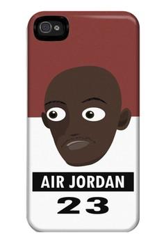 Air Jordan Matte Hard Case for iPhone 4, 4s