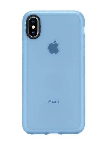 Incase navy Incase INPH190381-HBL Protective Lattice Cover for iPhone X - Horizon Blue 774C7AC7C6467FGS_1