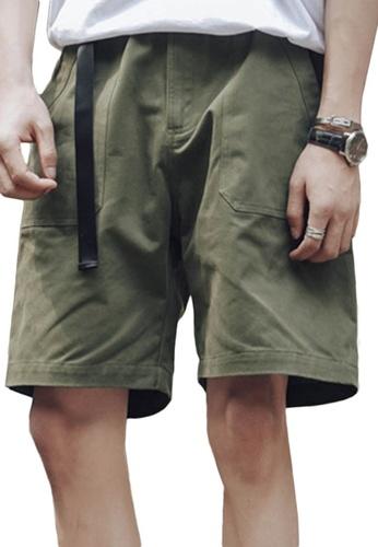 Sunnydaysweety green Casual Wide Leg Shorts A21032314GR EB70AAA8789018GS_1