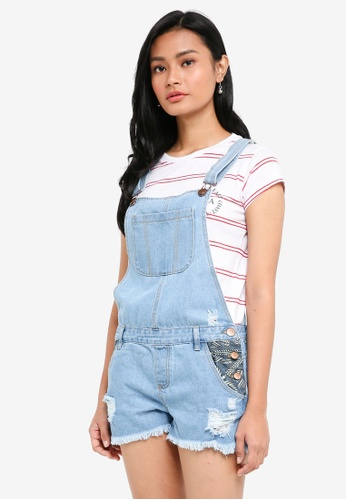 Cotton On blue The Classic Overall BADA6AA99BE9EBGS_1