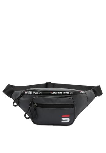 Swiss Polo grey Water Proof Waist Bag 8EFB5AC6EF3227GS_1