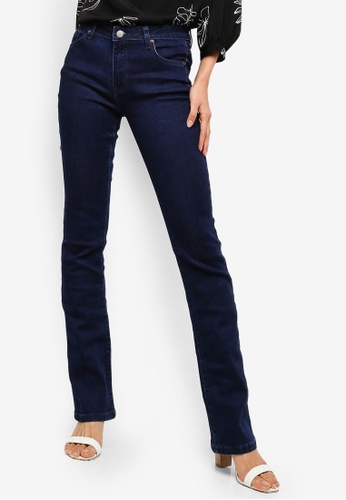 ZALORA blue Bell Bottom Jeans F850CAA1CC1B95GS_1