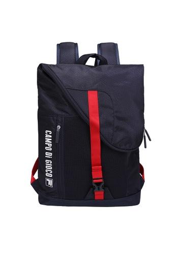 FILA navy Red Line Backpack 3B3AFAC2441DA2GS_1