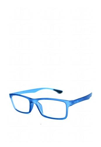 Peculiar and Odd blue Optical Rubberized Frame XQY 7926 PE789GL0JXGBPH_1