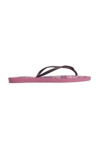 Dupe pink Dupé FLOR DO CAMPO Pink Flip Flops DU634SH59LYQHK_1