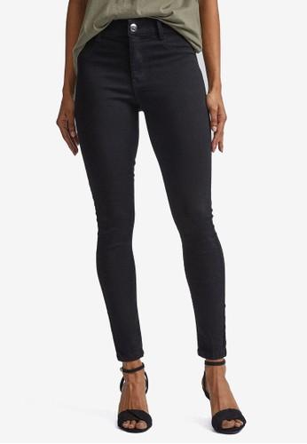 Dorothy Perkins black Petite Black Frankie Jeans 16F15AA5E6B9FDGS_1