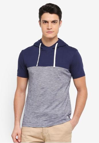 ESPRIT navy Short Sleeve T-Shirt 6CAC8AA5D01867GS_1