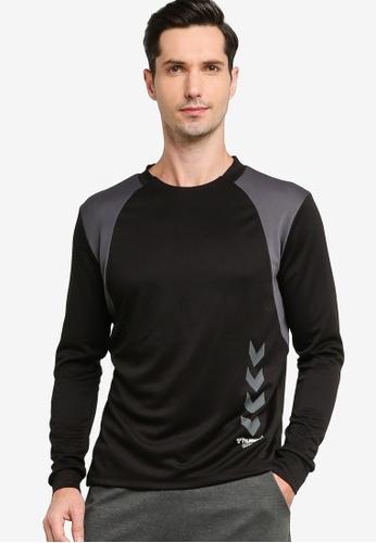 Hummel black Hummel Truman T-Shirt 684EAAA08D9F41GS_1