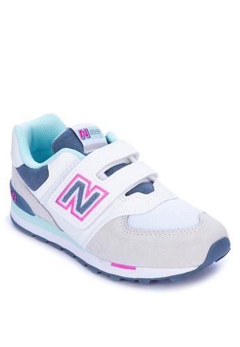 New Balance grey 574 Sneakers 82125KS3175293GS_1