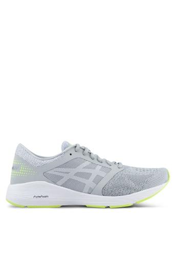 Asics grey Roadhawk FF Shoes AS989SH0SVRWMY_1