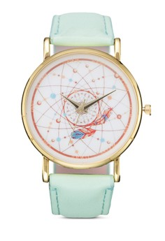 Universe Coloured Strap Watch