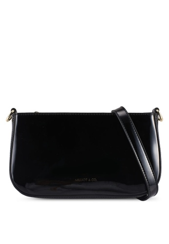 Milliot & Co. black Aurora Sling Bag F842FAC2134D20GS_1