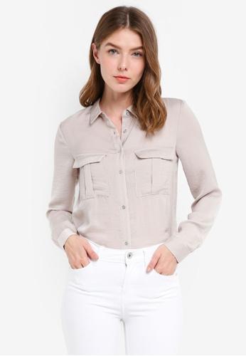 OVS white Long Sleeves Shirt 4D384AA8A9215DGS_1