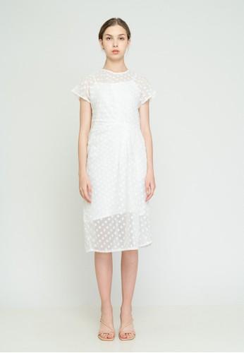 MILLE white Leina Dress White DBE04AA7393EDAGS_1