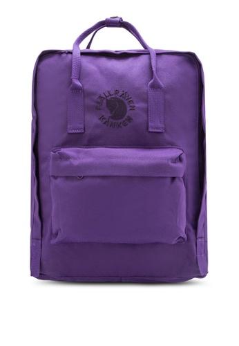 Fjallraven Kanken purple Deep Violet Re-Kånken Backpack FJ382AC94ZNHMY_1