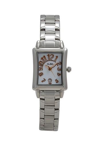 Alba silver ALBA Jam Tangan Wanita - Silver Rosegold - Stainless Steel - AXT285 AE33CAC3B9A81DGS_1