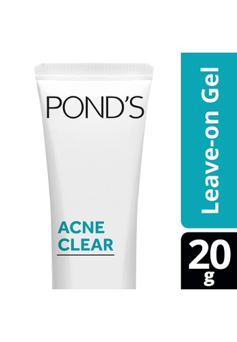 Pond's n/a Pond's Acne Clear Leave-On Gel Anti-Acne 20G 02CCABE87C2D02GS_1
