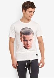 Flesh IMP white FLMP Onze T-Shirt FL064AA0S5U9MY_1