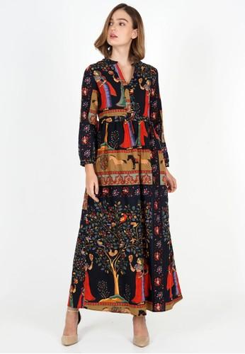 novel.mice multi Ethnic Tunic Print Fairytale Dress 1D6FCAA9C40ADEGS_1