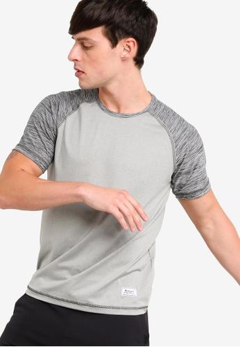 UniqTee 灰色 混色T恤 AA2C8AA97A19DDGS_1