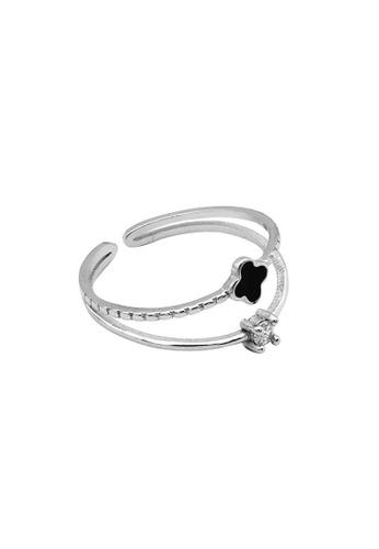 LYCKA silver LDR1252 S925 Silver Lucky Clover Ring A4338ACA5CF300GS_1