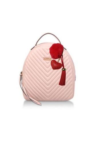 Loveaisyah red Heart Red Pom Pom Keychain X'mas Gift 2BD88AC68406A1GS_1