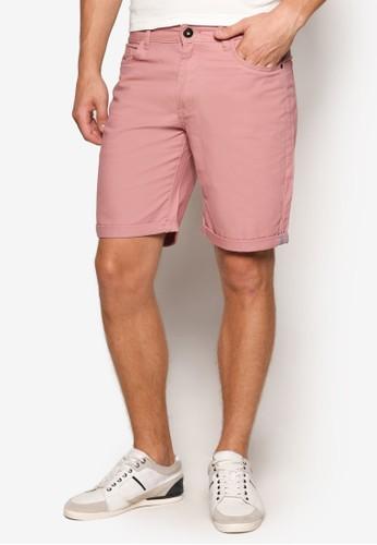 簡約修身短褲, 服esprit 手錶飾, 短褲