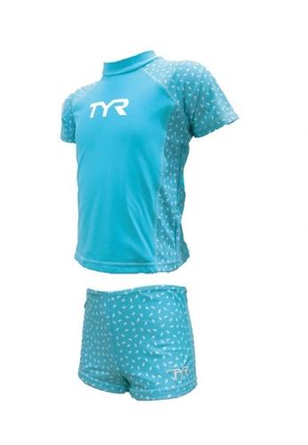 TYR blue TYR Larelle Girl Suit 78D2BKA368E15BGS_1