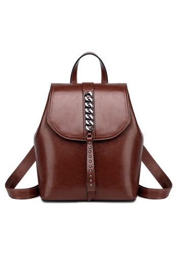 Twenty Eight Shoes Vintage Cow Leather Backpack A-1333 C259EAC05DFCF3GS_1