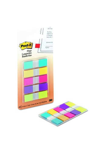 Post-IT 3M Post It FLAGS BR PORT .47 X1.7  5 Color 20 sheets [683-5CB2] 3C506HLEE1F809GS_1