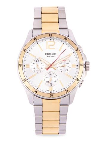 12e5b103127 Shop Casio Casio Chronograph Mtp-1374Sg-7Avdf Online on ZALORA Philippines