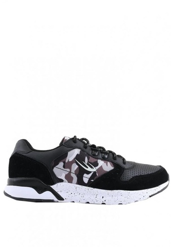 World Balance black Assault MS Sneakers 09FEASHB7D9481GS_1