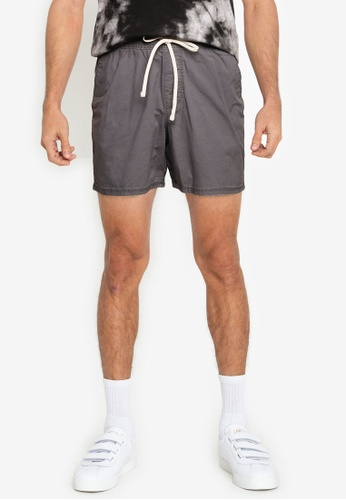 Hollister black 5 In Jogger Shorts 7CDC8AA9604B9EGS_1
