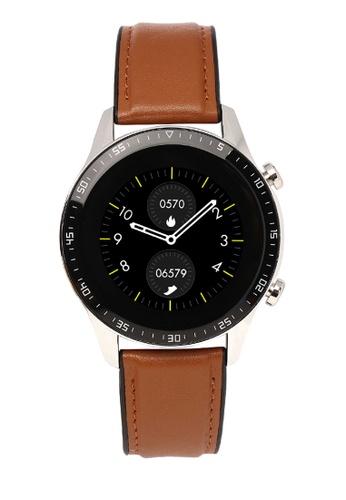 Milliot & Co. brown Magnus Smartwatch 183A4AC3B58309GS_1
