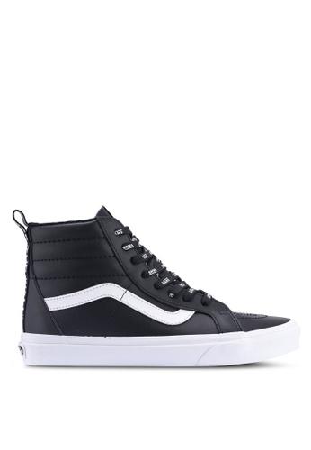 VANS black SK8-Hi Reissue OTW Webbing Sneakers F75B2SH33468A3GS_1