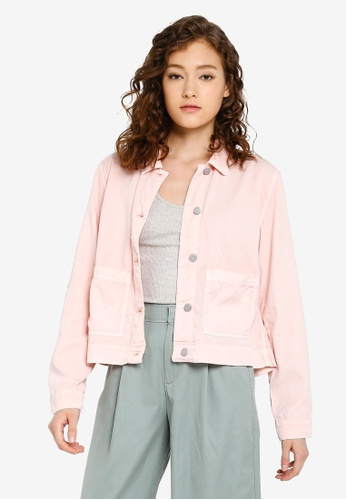 9c6843127ba62 Buy GAP Tencel Icon Jacket Online | ZALORA Malaysia